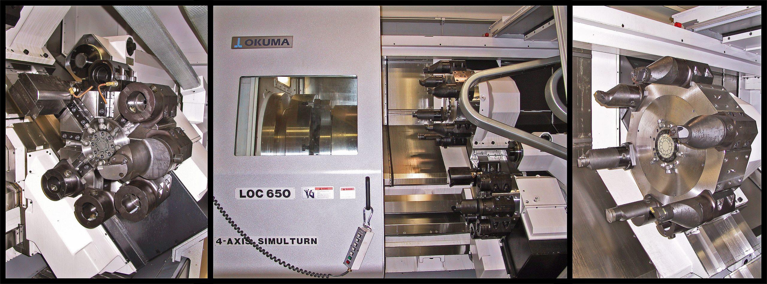 Okuma LOC 650 Quick change turret tooling